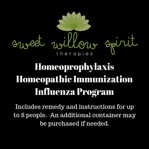 Homeopeophylaxis - Homeopathic Immunization Flu Program