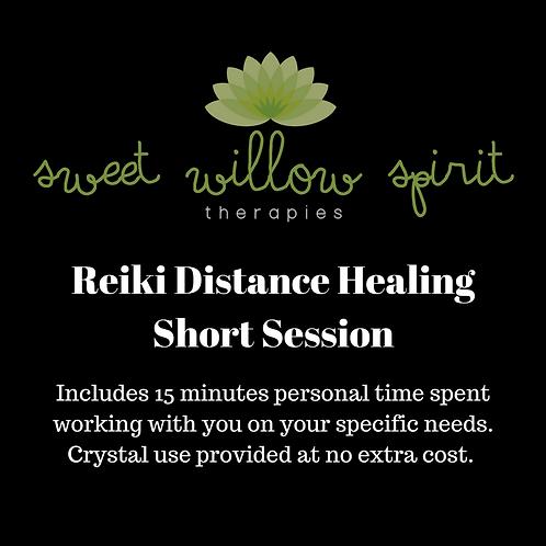 Distance Reiki Session - Short