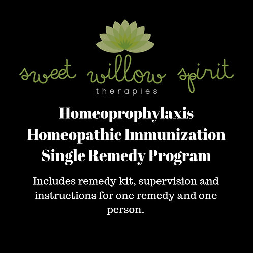 Homeoprophylaxis - Homeopathic Immunization Single Remedy Program