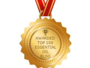 Named One of the Top 100 Essential Oil Blogs