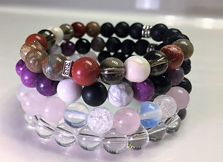 Aromatherapy crystal healing stone jewelry