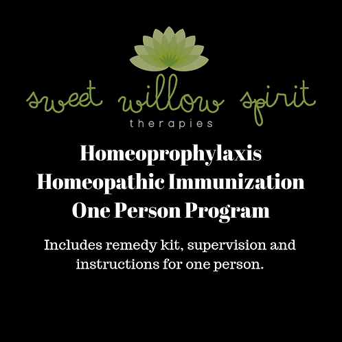 Homeoprophylaxis - Homeopathic Immunization One Person Program