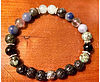 Essential oil crystal healing personal diffusing bracelet