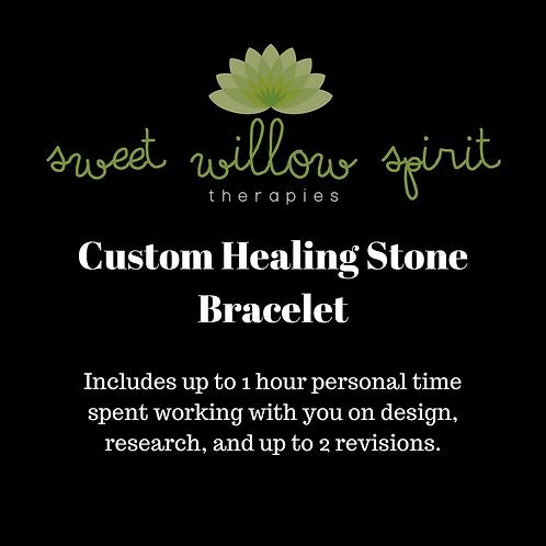 Custom Healing Stone Bracelet