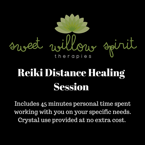 Distance Reiki Session