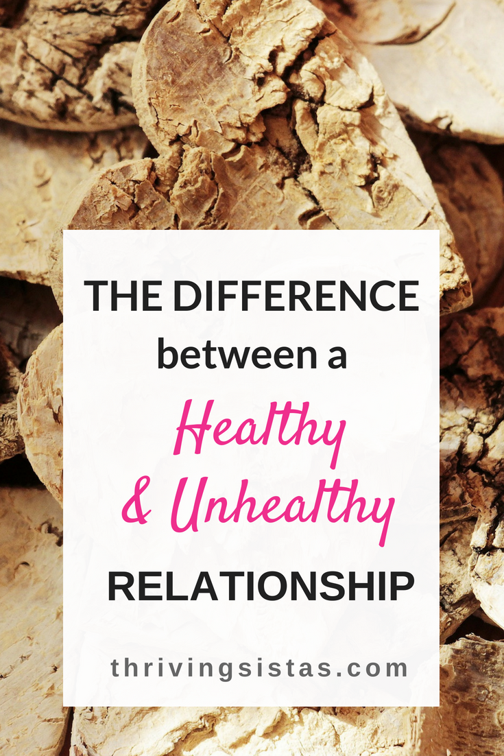 difference healthy and unhealthy relationship