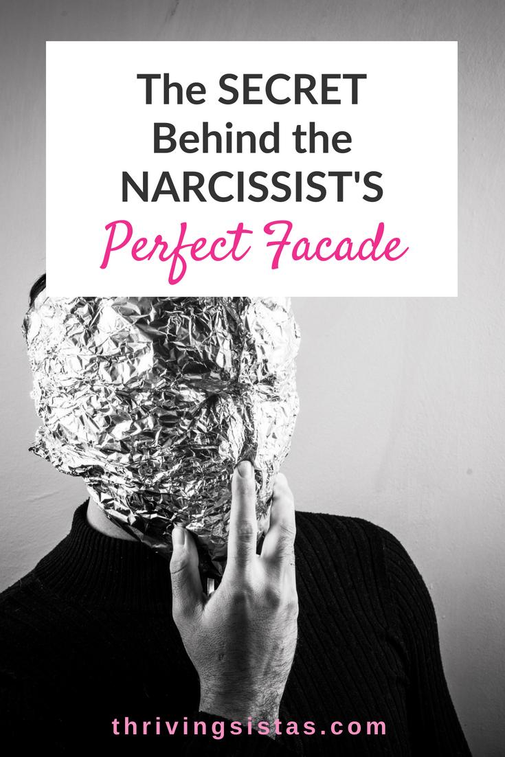 Narcissist's facade