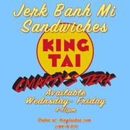 King Tai X Cmarty's Jerk Flyer