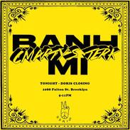 Banh Mi Flyer for Doris Bar