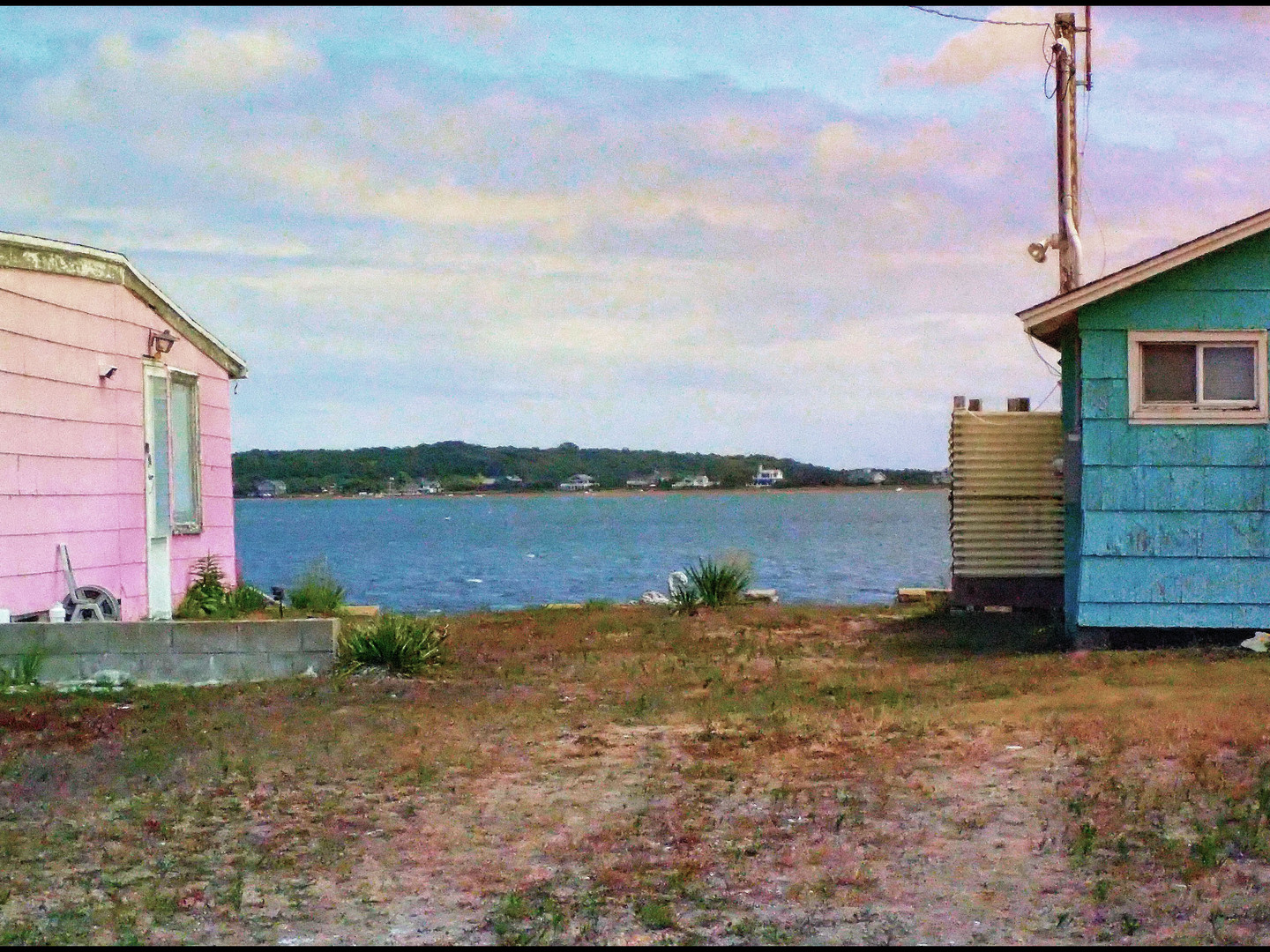 Montauk Pink and Blue