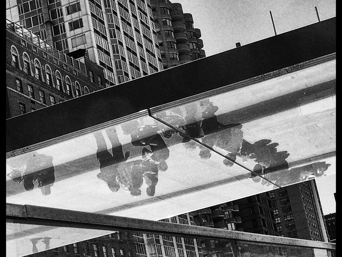 Pedestrian Reflections