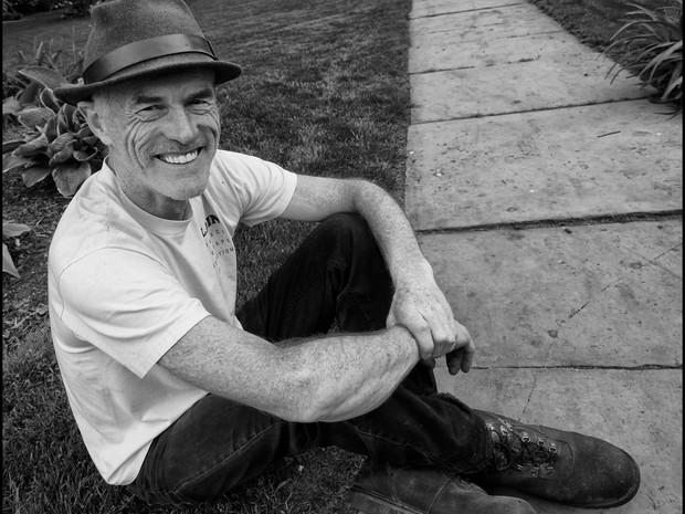 Alain on Grass
