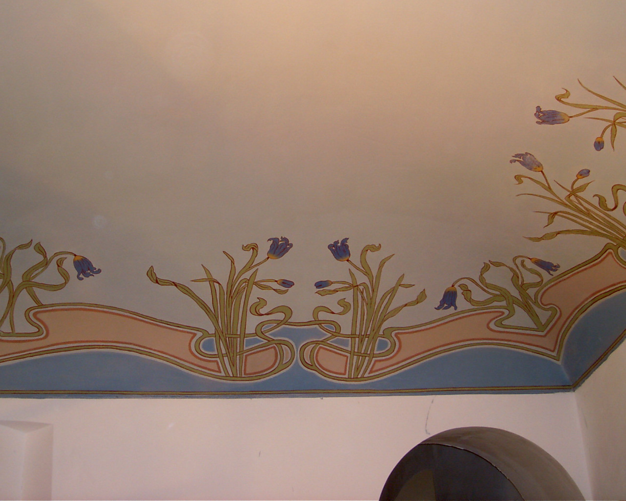 Peinture murale du 1930