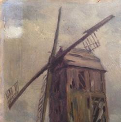 """""""Moulin"""" tableau XIX éme siècle"""