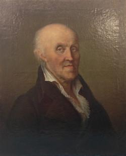 Portrait d'homme XVIII éme siècle