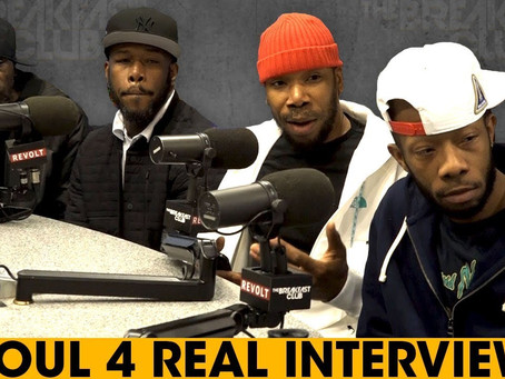 Soul For Real Interview On The Breakfast Club