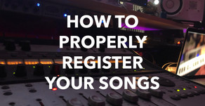 How To Properly Register Your Songs (BMI, ASCAP, SESAC)