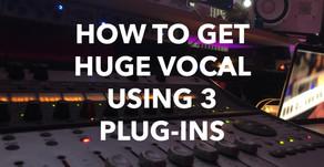 How To Get Huge Vocal Using 3 Plug-Ins (J.Bonkaz)