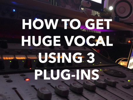 How To Get Huge Vocal Using 3 Plug-Ins (J.Bonkaz)