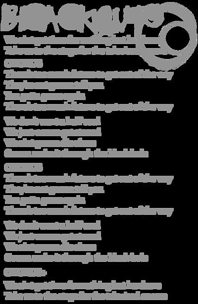 Blackout Lyrics