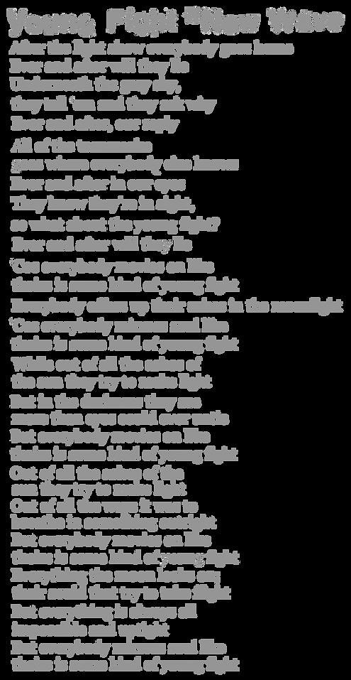 Young Fight New Wave Lyrics