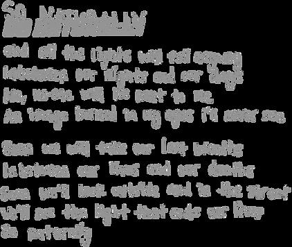 Amusement Parks On Fire So Naturally Lyrics