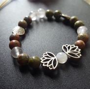 Moon Lotus bracelet