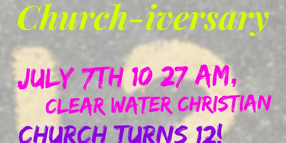 12 year Church-iversary