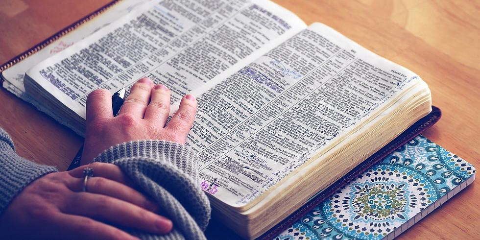 Wednesday Night Bible Study, 2 Samuel 23 & 24!