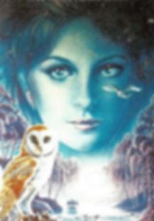 Monette peintre de tableaux sur céramique