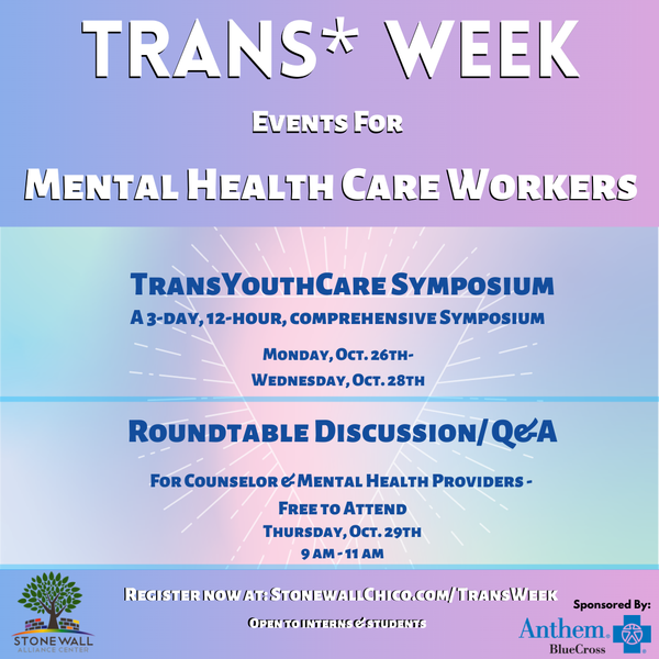 Trans* Week Targeted Promotion