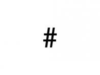 Hashtagy