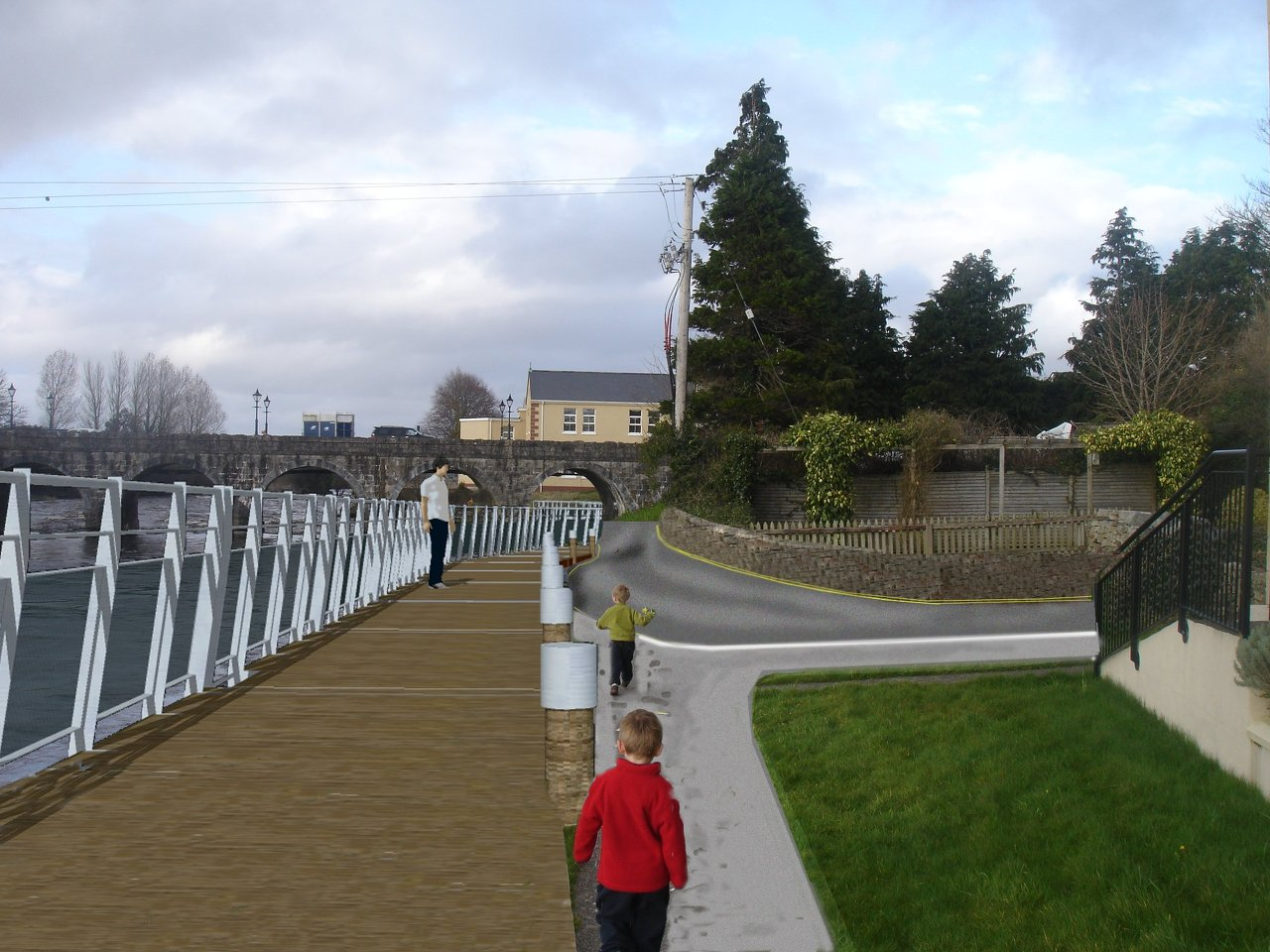 Foxford walk way