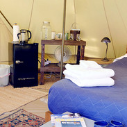 New Tent Interior Fridgeside1 July 2019.