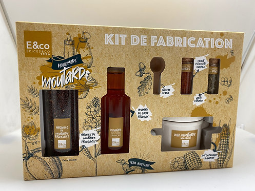 Kit Fabrication Moutarde