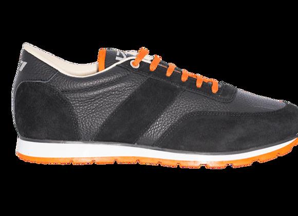 Sneaker La Cuir Noire 1
