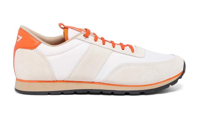 Sneaker 417 La Toile White - Modèle Mixte