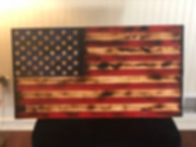 Rustic Stars & Bars - Semi-Gloss Finish