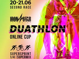 IRONSTAR DUATHLON ONLINE CUP - 2 этап 30-31 мая