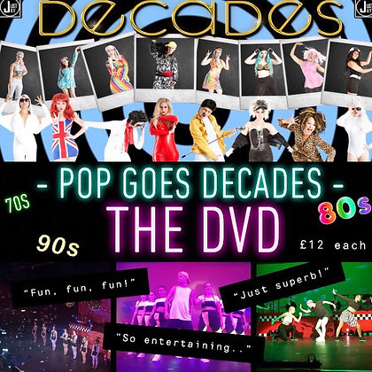 POP GOES DECADES - THE DVD