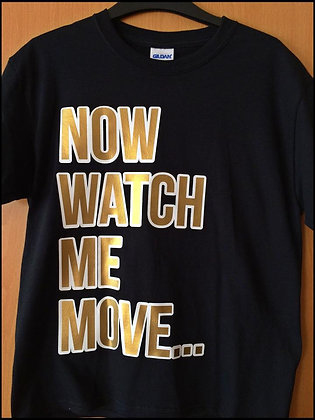 JUST JAY DANCE GOLD T SHIRT