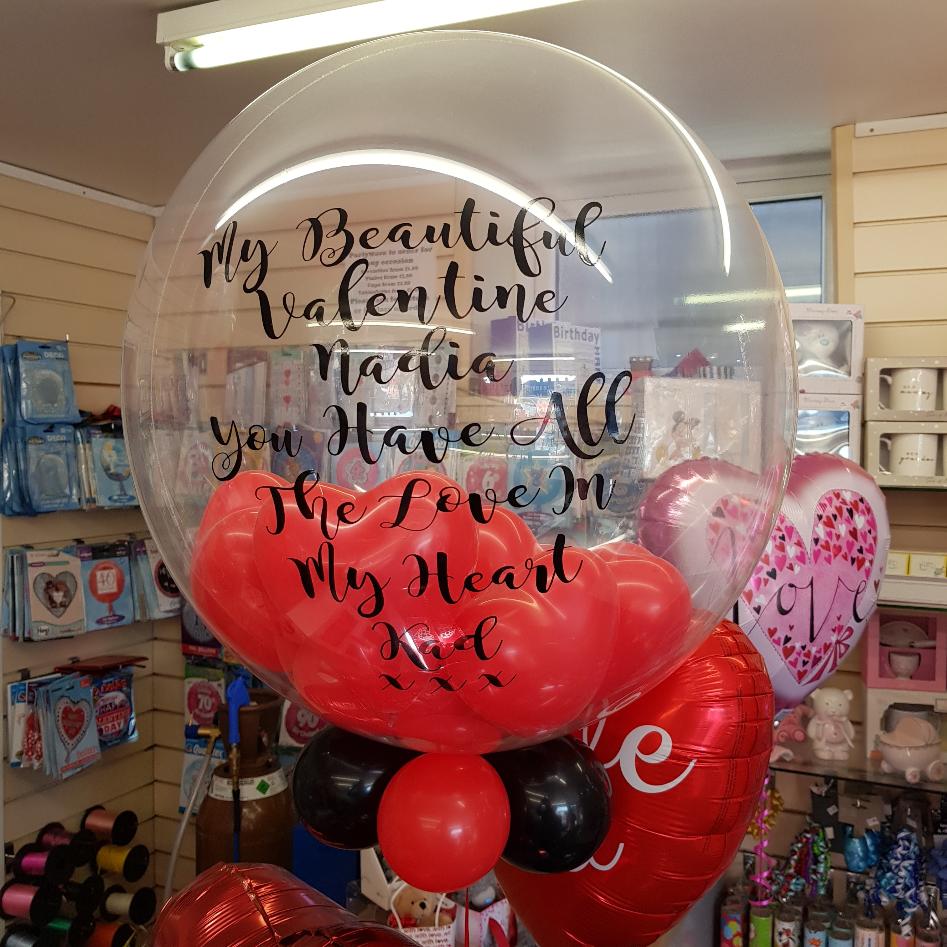 Personalised Balloons Bradford