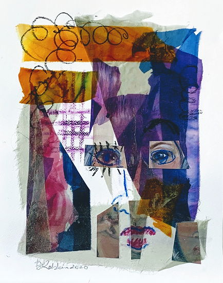 """Wear the Damn Mask (Covid-19)"" Collage 11 x 14"""