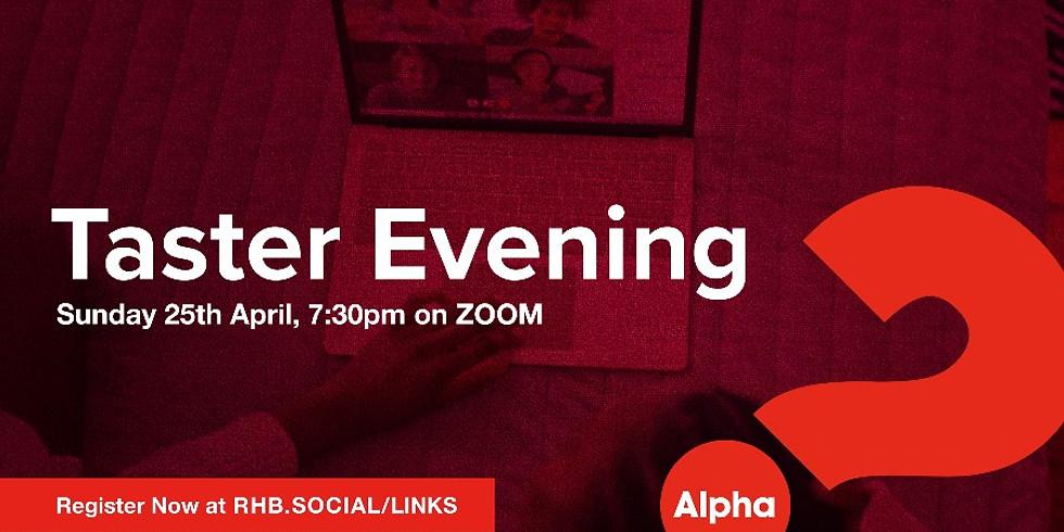 Alpha Taster Evening