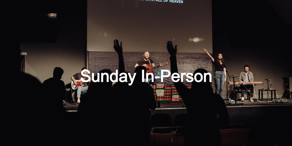 Sunday In-Person: 4:00PM