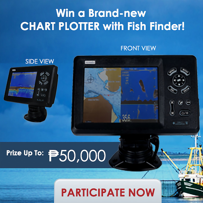 Win a Brand-new Chart Plotter with Fish Finder!