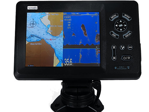 GPS CHART-PLOTTER WITH FISHFINDER