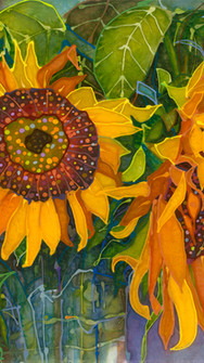 Sunflowers Just Picked