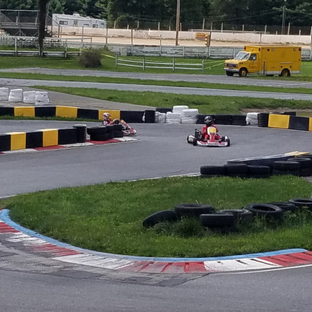 Racing Through my College Years