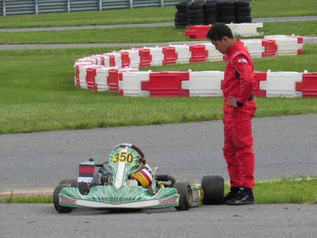 Rounds 1 and 2 of Northeast Rotax Regionals at NJMP